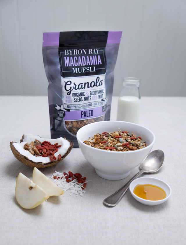 A delicious medley of honey roasted organic nuts, seeds and fruit. Perfect served with your favourite nut milk, coconut yoghurt and/or fresh fruit, or eaten straight out of the packet as a healthy snack!
